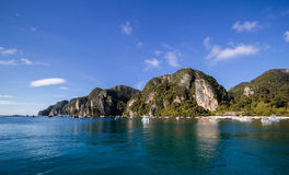 Thailand island. Koh PhiPhi at southern Thailand Stock Photography