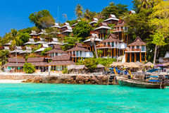 Thailand island resort Royalty Free Stock Photos