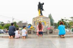 Thailand - 10. Januar: Monument des Pazifikkriegs (größeres Ost-asi stockbild
