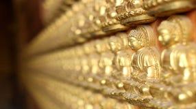 Thailand 15 Januari, 2017: KinesMahayana buddism som Viharnra av bodhisattvaen Guanyin, Viharnra av Buddha 10.000 Dragon Templ Royaltyfri Bild