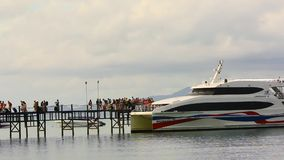 THAILAND 2014 JULY 15. Tourists arrived on the Royalty Free Stock Photos