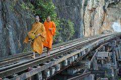 THAILAND KANCHANABURI DEATH RAILWAY RIVER KWAI Royalty Free Stock Photography
