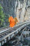 THAILAND KANCHANABURI DEATH RAILWAY RIVER KWAI Stock Image