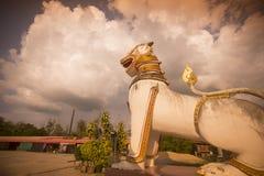 THAILAND KANCHANABURI SANGKHLABURI WAT WANG WIWEKARAM Royaltyfri Fotografi