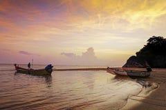 Thailand, Khao Kao Seng, Songkhla. Nice atmosphere on the beach of Khao Kao Seng in Songkhla, Thailand, Asia Stock Images