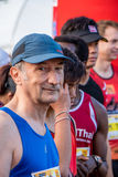 Thailand, Khaoyai - October 2, 2016,Trail series 2016 of tiger balm. It is trail runner event in khaoyai at Thailand. Royalty Free Stock Photography
