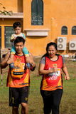 Thailand, Khaoyai - October 2, 2016,Trail series 2016 of tiger balm. It is trail runner event in khaoyai at Thailand. Royalty Free Stock Image