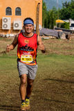 Thailand, Khaoyai - October 2, 2016,Trail series 2016 of tiger balm. It is trail runner event in khaoyai at Thailand. Stock Photos