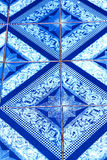 Thailand  kho phangan  abstract cross ceramics in the temple Royalty Free Stock Photo