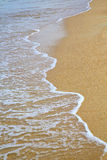 Thailand kho tao bay abstract of a  wet sand asia Royalty Free Stock Images