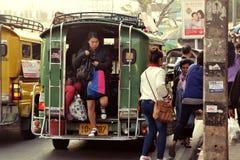 Thailand-Kleinbus Lizenzfreie Stockbilder
