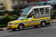 Thailand-Kleinbus Lizenzfreie Stockfotografie