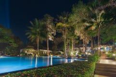 Thailand. Ko Chang. Hotel Chang Buri Resort evening Stock Images