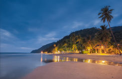 THAILAND, KO CHANG. Thailand tropical island of Koh Chang. Beach White Sand Beach. Stock Photos
