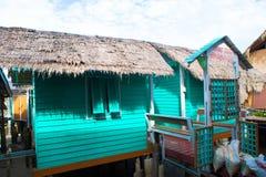 Thailand Koh bangbao fishing village scenery Royalty Free Stock Images