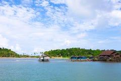 Thailand Koh bangbao fishing village scenery Royalty Free Stock Photos