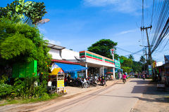 Thailand Koh Chang Kai Bae Beach 7-11 convenience store Royalty Free Stock Image