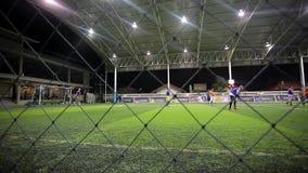 THAILAND, KOH SAMUI, am 16. Juli 2014 Fußballspieler stock footage