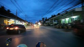 Thailand, Koh Samui 16 july 2014 Motion Thai night stock video footage