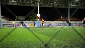 THAILAND, KOH SAMUI, 16 july 2014 Soccer players Stock Image