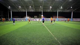 THAILAND, KOH SAMUI, 16 july 2014 Soccer players Stock Photo