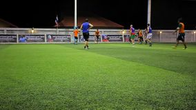 THAILAND, KOH SAMUI, 16 july 2014 Soccer players Royalty Free Stock Images