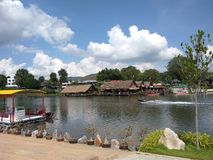 Thailand Koh samui Waterfall royalty free stock photos