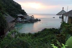 Thailand Koh Tao island evening Stock Image