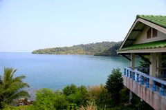 Thailand kohkood seaview native peace Stock Images