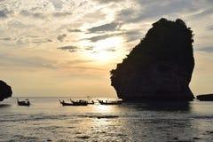 Thailand kopplar av havet royaltyfria foton