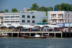 THAILAND KRABI Royaltyfri Foto