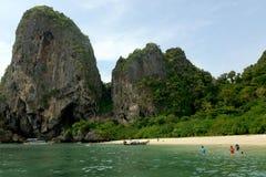 THAILAND KRABI Royaltyfri Bild