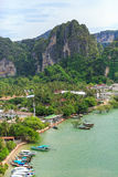Thailand, Krabi. Luxury resort Royalty Free Stock Photo