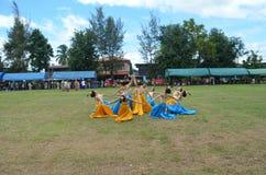 Thailand kulturell show Royaltyfri Foto