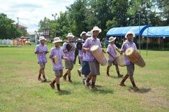 Thailand kulturell show Royaltyfri Fotografi