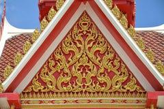 Thailand-Kunstgebäudedesigne Stockfoto