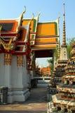 Thailand kyrka Arkivfoto