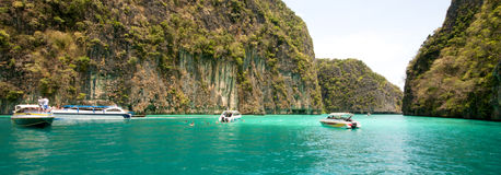 Thailand Lagoon Royalty Free Stock Photography