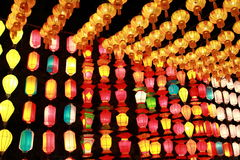 Thailand lamp Royalty Free Stock Photography