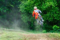Thailand Lampang-motocross Royaltyfria Bilder