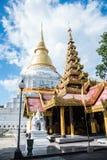 Thailand lampang temple. Thailand lampang `s thai temple stock photo