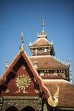 THAILAND LAMPANG WAT PONGSANUK TEMPEL Fotografering för Bildbyråer