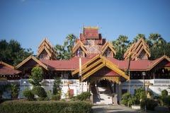 THAILAND LAMPANG WAT SRI RONG MUANG TEMPLE. The wat Sri Rong Muang in the old town of the city of Lampang in North Thailand Royalty Free Stock Photography