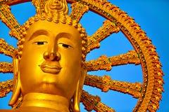 Thailand Landmark. The Big Buddha Temple. Buddhism Religion. Tou Stock Photography