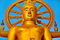 Thailand Landmark. The Big Buddha Temple. Buddhism Religion. Tou Royalty Free Stock Photo