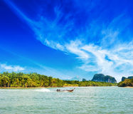 Thailand landscape Royalty Free Stock Photo