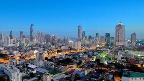 Thailand-Landschaft: Herz der Bangkok-Skyline stockfotografie
