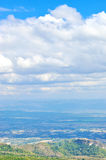 Thailand landskap Arkivfoto