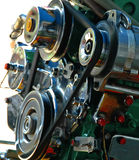 Thailand-langes Heck-Boots-Motor an der vollen Leistung. lizenzfreie stockbilder