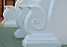 Thailand Lanna architecture White Stock Photos